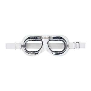 White Leather CB Driving Goggle