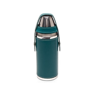 Turquoise Sterling 8oz Flask