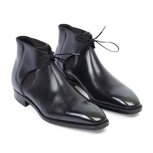 Black Decon Reconstructed Chelsea Boot