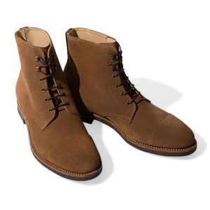 Tobacco Suede Paolo Snuff Boots