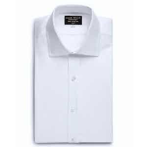 White Castello Cotton Shirt