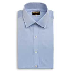 Sky Blue Castello Cotton Shirt