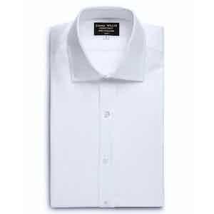 White Genio Cotton Shirt