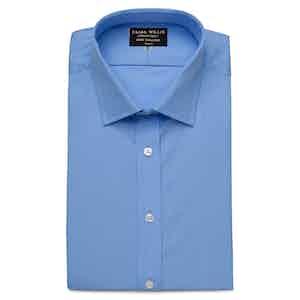 Azure Superior Cotton Shirt