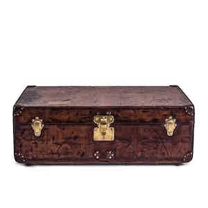 Vintage Louis Vuitton Leather Cabin Trunk