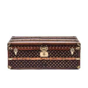 Vintage Louis Vuitton Low Trunk