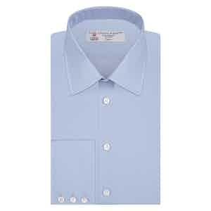 Blue Classic Cotton Shirt