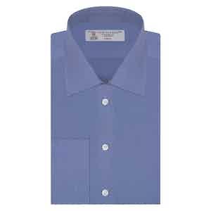 Dark Blue Classic Cotton Shirt