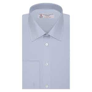 Light Blue Sea Island Classic Cotton Shirt