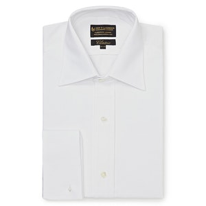 White Marcella Classic Evening Shirt