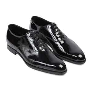 Black Patent Leather Ronald Oxford Shoes
