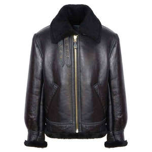 Black B3 Shearling Jacket
