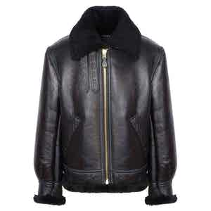 Black B3 Shearling Jacket