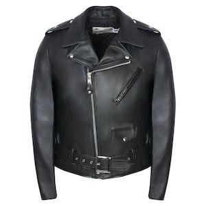 Black Leather Perfecto Jacket