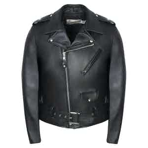 Black Leather Perfecto Jacket