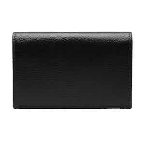 Black Goat Leather Card Case