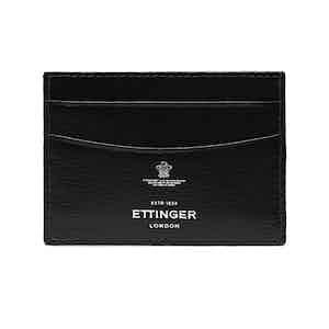 Black Goat Leather Card Holder