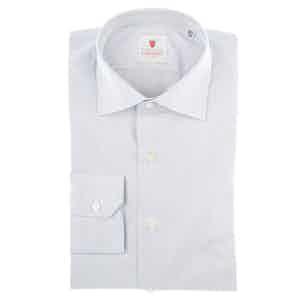 Venice Blue Cotton Poplin Shirt