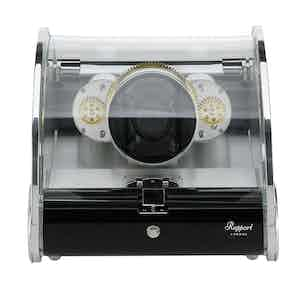 Time Arc Aluminium and Glass Single Watch Winder
