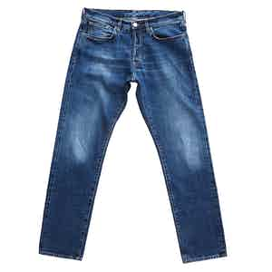 Blue Cotton 13oz Japanese Selvedge Denim Jeans