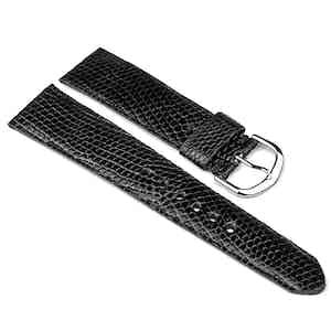 Black Lizard Classic Watch Strap