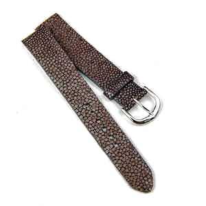 Brown Stringray Classic Watch Strap