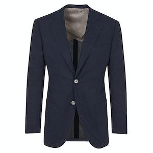 Dark Navy Wool 'Business Casual' Blazer