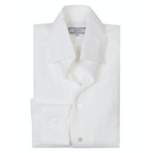 White Linen 'Weekend Leisure' Shirt
