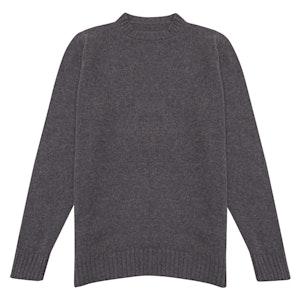 Dark Grey Supersoft Cashmere Sweater
