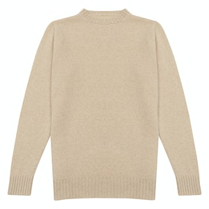 Natural Supersoft Casmere Sweater