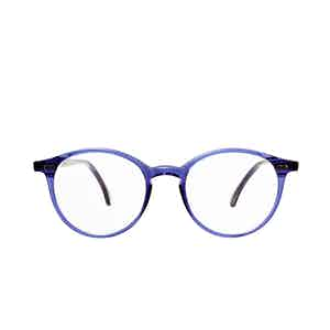Cran Blue Acetate Eyeglasses