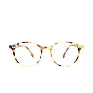 Cran Matte Light Tortoiseshell Acetate Eyeglasses