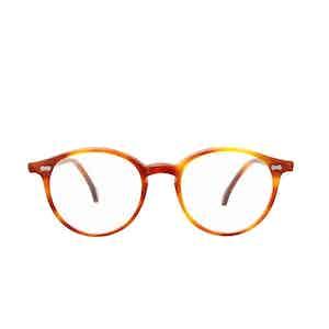 Cran Matte Classic Tortoiseshell Acetate Eyeglasses