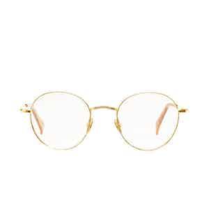 Vicuna Gold Rhodium Eyeglasses