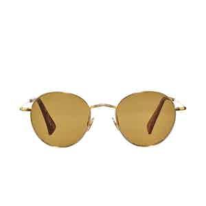 Vicuna Gold Rhodium Tobacco Lens Sunglasses