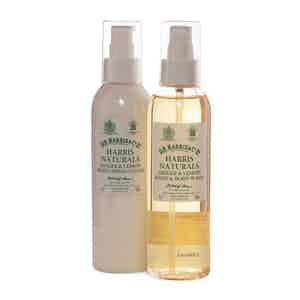 Naturals Ginger and Lemon Body Wash and Lotion Set
