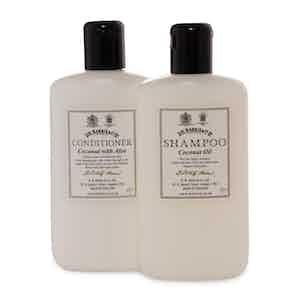 Coconut Shampoo and Conditioner Set