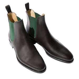 Giancarlo Marrone Leather Chelsea Boots
