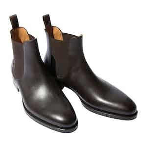 Giancarlo Moro Leather Chelsea Boots