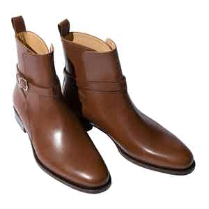 Libero Castagno Leather Jodhpur Boots