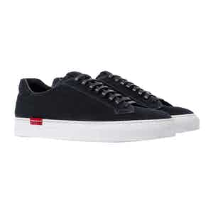 Ugo Abisso Blue Suede Sneakers