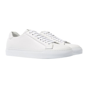 Ugo Bianco Leather Sneakers