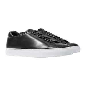 Ugo Nero Leather Sneakers