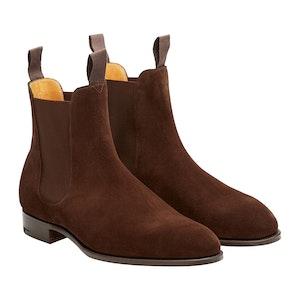 Mink Suede Newmarket Chelsea Boots