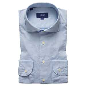 Light Blue Soft Cotton Royal Oxford Shirt