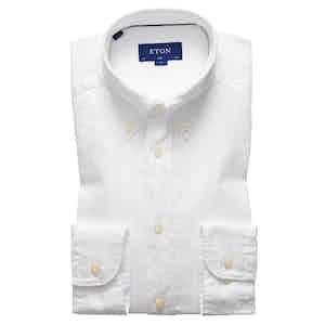 White Soft Cotton Royal Oxford Shirt
