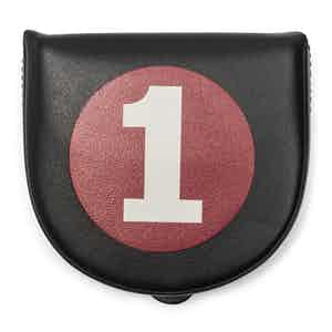 Black Leather No. 1 Coin Purse