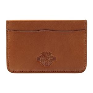 Havana Leather Credit Card Holder