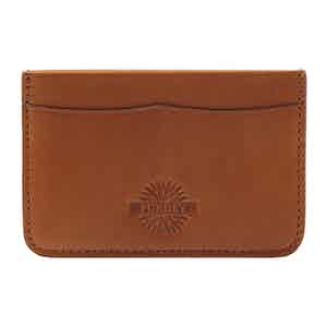 Havana Leather Credit Card Holder