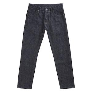 Indigo Selvedge Denim Straight-Leg Guappo Jeans